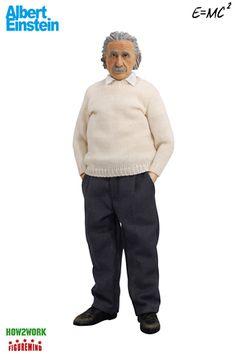 Figuremind - Albert Einstein 1:6 scale action figure doll