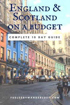 How to see England and Scotland on a budget during a 10 day trip to Great Britain. The best ways to save on flights lodging dining and sight-seeing in these two beaufitul countries. Scotland Vacation, Scotland Travel, Ireland Travel, Scotland Trip, Highlands Scotland, Skye Scotland, Scotland Castles, Galway Ireland, Cork Ireland