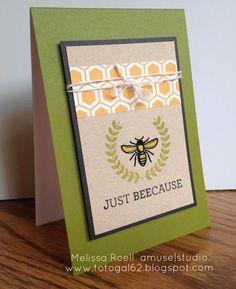 Amuse Studio's Bee Happy stamp set.