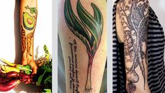 veggie tattoos