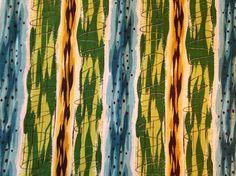 Mod Psychedelic 60's Barkcloth by KimberlyZ on Etsy