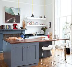 The 95 best Grey Kitchens images on Pinterest | Kitchen dining ...