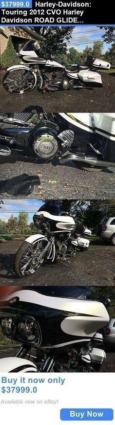 Motorcycles: Harley-Davidson: Touring 2012 Cvo Harley Davidson Road Glide Custom Fltrxse BUY IT NOW ONLY: $37999.0 #harleydavidsonroadglidecustom #harleydavidsonroadglidecvo #harleydavidsoncustommotorcycles