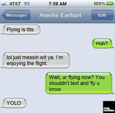 Famous Last Texts (Funny)