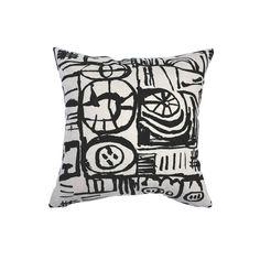 Sketch. Screenprinted Cushion Screenprinting, Cushion Pads, Sketch, Mid Century, Cushions, Pottery, Textiles, Throw Pillows, Design