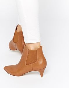 8323c392506 ASOS REDCHURCH Kitten Heel Ankle Boots Ankle Boots Dress