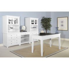 Magnussen Kentwood 4-Piece Standard Desk Office Suite