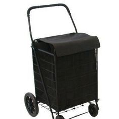 Cart Shopping Personal Carriage Moving Utility Service Groceries cart with liner #CharBroil