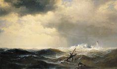 Edward Moran, Shipwrecked 1877