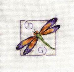 cross stitch patterns free dragonfly - Bing Resimler