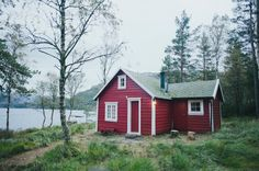 Norwegian cabin, from a photographer's rather beautiful trip in Norway