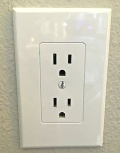 Home depot - These outlet covers create a uniform, modern appearance and save time on labor.  Instead of having to uninstall and unwire the old outlets, then install and rewire new outlets these covers fit right over the existing electrical outlets.  They retail for around $2.25 each.