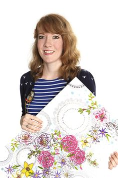 Surface Design by Laura Jean Davenport, University of Huddersfield-Julie Smith is this you? Davenport University, News Design, Surface Design, Floral Tops, Awards, Bell Sleeve Top, Designers, Facts, Inspiration