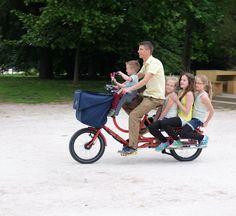 Transportkapazitäten wie ein Auto: Auf die Rückbank passen drei Kinder, wer...