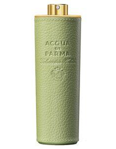 Acqua di Parma Gelsomino Nobile Pistachio Green Leather Purse Spray