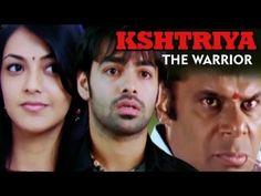 Superhit hindi dubbed movie Kshatriya - Ek Yoddha (2009) Starring: Ram, Kajal Agarwal,  Asish Vidyardhi, Brahmanandam, Sameer.