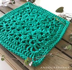 Cosmos – virkad ruta/crocheted square – Virklust Cosmos, Projects To Try, Blanket, Rugs, Crochet, Home Decor, Pique, Farmhouse Rugs, Decoration Home