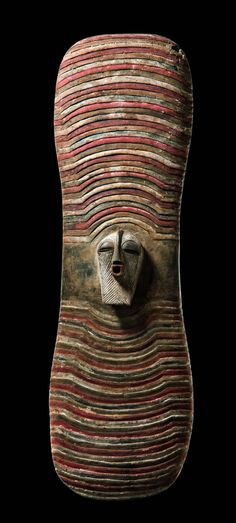 "Africa | Shield ""kalengula"" from the Songye people of the DR Congo 