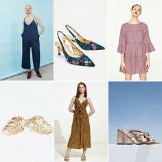 Una mini #wishlist para las #rebajas! 1/ Mono de @violetabymango 2 y 3/ zapatos y vestido de @zara 4/ pendientes de @parfois_ 5/vestido @oysho 6/ zapatos @uterqueofficial #tdsmoda #sales