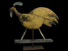 Steve Hazlett American Folkcraft-Hen Weathervane
