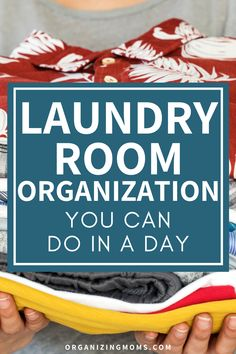 How to organize your laundry room and reset your space. Laundry room organization ideas you can do in a day. Make your laundry room into an organized oasis with these easy-to-follow steps. #Organizing #Decluttering #organizingmoms Laundry Room Organization, Organization Ideas, Getting Rid Of Clutter, Organized Mom, Doing Laundry, Laundry Hamper, Simple Living, You Can Do, Organizing Tips
