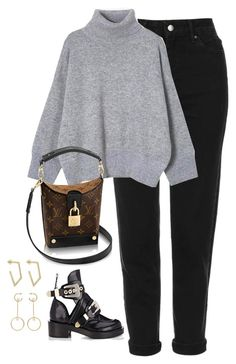 """""""Untitled #4579"""" by magsmccray on Polyvore featuring Topshop, Balenciaga and Chloé"""