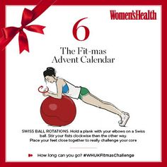 The quickest step to abs worthy of a cutaway party dress, today's #WHUKFitmasChallenge move is a toughie. Are you up for stirring the pot?