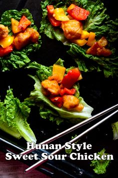 Hunan Style Sweet Sour Chicken