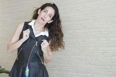 fashion, las pepas, leather, vest, black, trends, blog, buenos aires