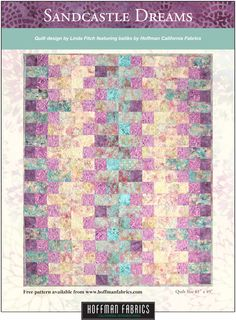 Stained Glass Christmas by Hoffman Fabrics. FREE quilt pattern at ... : hoffman free quilt patterns - Adamdwight.com