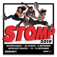 Win 4 x Family Tickets to STOMP at Artscape, Cape Town @stompworldwide