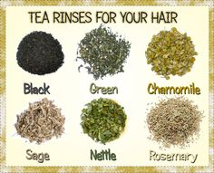 What Are Tea Rinses And How Do They Benefit Your Hair? http://www.blackhairinformation.com/hair-care-2/hair-treatments-and-recipes/tea-rinses-benefit-hair/