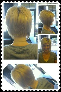 A-Line Stacked Bob