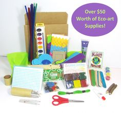 Our Creativity Art Box is chock full of over $50 worth of eco-friendly art supplies. Just $24.95! Plus, for a limited time, save an extra 20% with code SUMMERFUN.