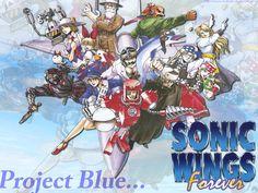 Sonic Wings Wallpaper 4 by Winys-Rockman on DeviantArt
