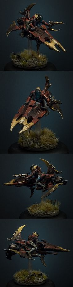 really like the very gritty paint scheme for this Reaver.
