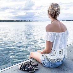 Outdoors: Bribie Island sitting on the pier. Follow @jayde_archives on Instagram.