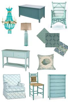 Inspiration Board In The Mix Turquoise Home Decorturquoise