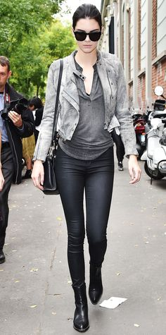 Kendall Jenner's Best Fashion Week Looks - September 18, 2014 from #InStyle