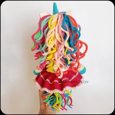 In this article we will share amigurumi rainbow amigurumi free crochet pattern. You can find everything you want about Amigurumi. Crochet Unicorn Pattern Free, Crochet Doll Pattern, Crochet Patterns Amigurumi, Crochet Dolls, Free Pattern, Crochet Bear, Free Crochet, Knitted Animals, Rainbow Unicorn