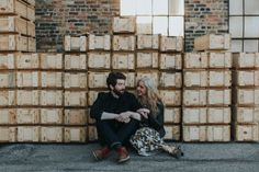 Industrial engagement photo inspiration | Image by Studio 29 Photography + Design