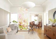 обои в стиле акварель в интерьере гостиной фото: 14 тыс изображений найдено в Яндекс.Картинках