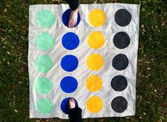 DIY Handmade Lawn Games #diy