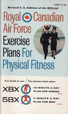 The Royal Canadian Air Force Exercise Plan For Physical Fitness was designed by Dr Bill Orban in the 1950s. It's a series of exercises that you perform for just 11 minutes every day.  You don't need any equipment, and it's designed to work all your muscle groups in a short amount of time.