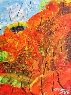 TOAMNA Mod de realizare: acril pe panza Dimensiune: 40 X 30 cm Lucrare disponibila dumitruciocan@yahoo.com www.facebook.com/ciocan.dumitru Acrylic Paintings, Facebook, Abstract, Artwork, Work Of Art