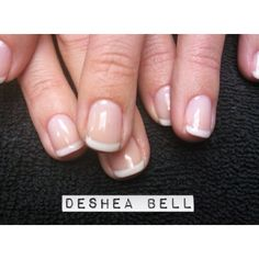 Shellac nails french