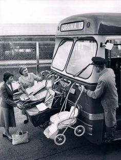 Baby transport. New Zealand. HAHAHA there will be Americans out there that see this and think  people left their babies in the prams. LOL