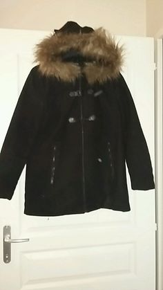 Manteau noir style zara taille 40