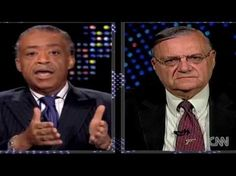 Sheriff Joe Arpaio vs. Al Sharpton OBAMA PAID 5 MILLION TO Seal his records!!