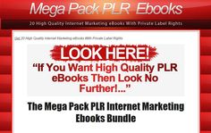 Own The Private Label Rights To These High-Quality eBooks You Can Put Your Name On And Sell Keeping 100% Of Your Profits!